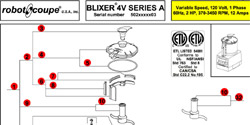 Download Blixer 4 V Series A Manual