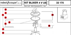 Download Blixer 4V US Manual