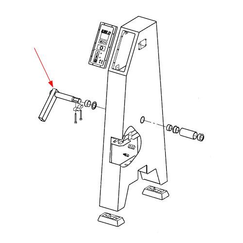 (Da) Back Tilting Pivot Assy R